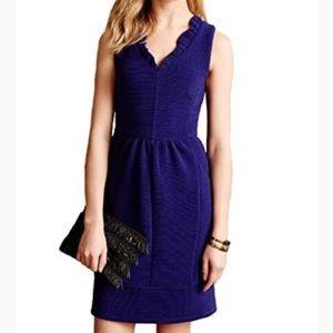 Anthropologie Maeve Blue Dress